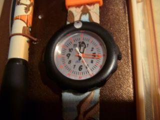 Flik Flak Kinderuhr Uhr Watch Wil.  E Coyote,  Roadrunner Armbanduhr Bild