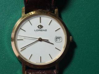 Lorenz Damenarmbanduhr Mit Datumanzeige (flach) Bild