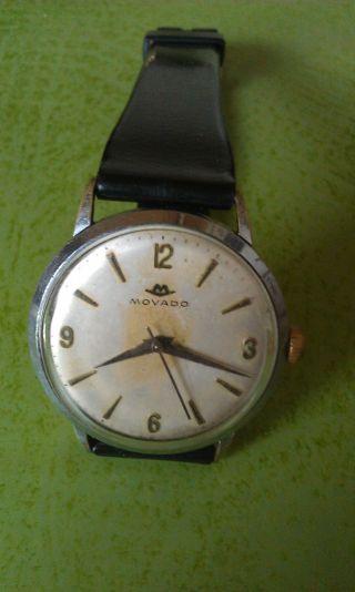 Aus Meiner Sammlung Eine Alte Movado Mit Handaufzugswerk.  Die Uhr Läuft Prima. Bild