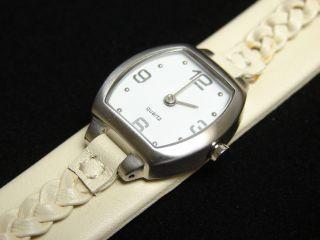Tchibo Armbanduhr Lederarmbanduhr Uhr Zeit Watch Leder Quartzwerk Mineralglas Bild