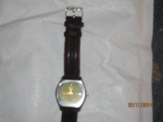 Armbanduhr Seiko5 Automatik Day Date Echt Lederband Waterresistant Bild