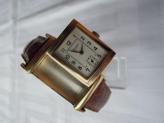 Herrenarmbanduhr,  Favre Leuba,  Handaufzug,  Wendeuhr Aus Den 40/50er Jahren Bild