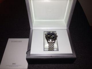 Iwc Spitfire Doppelchronograph Neupreis 12000€ Tolles Weihnachtsgeschenk Bild
