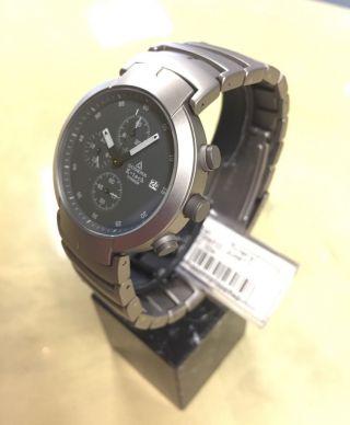 Dugena K - Tech Chronograph Kinetic Titan Sammlerstück Selten Stoppuhr Bild