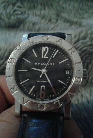 Bulgari Uhr Unisex Bb33sl Edelstahl Chronograph Weihnachten Bild