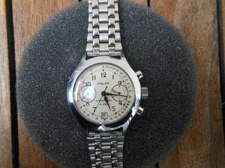 Poljot Fliegeruhr Chronograph 23 Jewels Analog Automatik Bild
