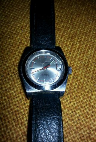 Primato Automatic Swiss - Made Uhr,  17 Rubis,  Antimagnetic,  Waterproof, Bild