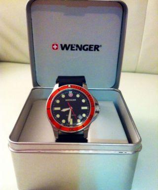 Wenger Armbanduhr Battalion Diver Bild