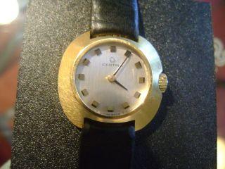 Schweizer Vintage - Uhr Von Certina,  Vergoldetes Gehäuse,  Mechanisch,  Funktioniert Bild