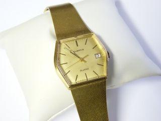 Vintage Wunderschöne Gama Armbanduhr Aus Den 60er Jahren Bild