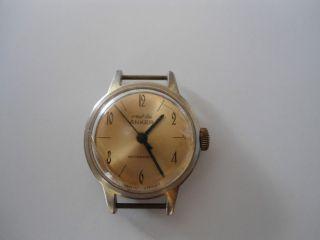Orginal Ddr Armbanduhr Von Ruhla,  Sammeln,  Selten (2) Bild