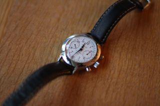 Uhr Armbanduhr Poljot Chronograph 840497 Bild