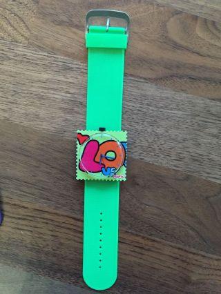 S.  T.  A.  M.  P.  S.  Uhr Love Grün,  Grünes Armband Bild