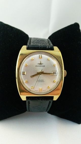 Dugena Monza Armbanduhr - Automatik / Automatic - Vintage - Sammler Bild