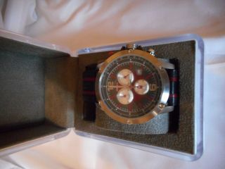 Dkny Uhr Chronograph Leder Band Männer Ny1389 Bild
