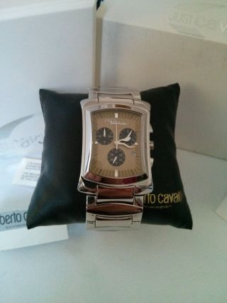 Roberto Cavalli Armbanduhr R7253900 Edelstahlarmband Bild