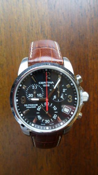 Certina Ds Quarz Chronograph G10 - Gepflegt, . Bild