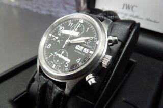 Iwc Fliegeruhr Chronograph Automatik Bild