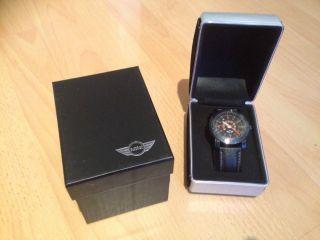 Bmw Mini Speedometer Black Armbanduhr Uhr Und Ovp Bild