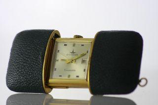 Dugena Swiss Uhr Gold 17 Juwels Steine Bild