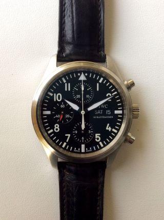 Iwc Flieger Chronograph Ref.  3717 Bild
