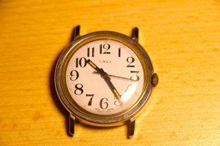 Timex,  1970er,  Handaufzug,  Made In Great Britain Bild