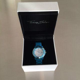 Uhr Thomas Sabo Armbanduhr,  Nie Getragen,  Unisex,  Blau,  Weiß Bild