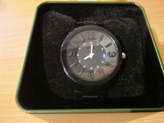 Edc,  Esprit Uhr,  Armbanduhr,  Schwarz,  Strasssteine, Bild