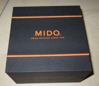 Biete Diese Sehr Gut Erhaltene Mido - Uhrenpox In Der Gr.  14 X 14 X 9cm An. Bild