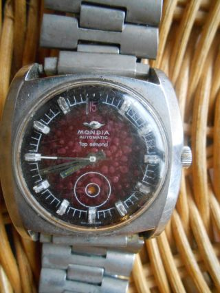 Mondia Automatic Automatik Swiss Made Bild