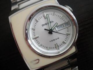 Ausgefallene Diesel Uhr Aus Edelstahl Model Dz - 4067 Unisex Bild
