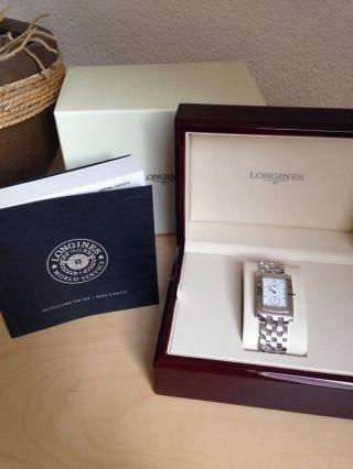 Longines Dolce Vita Luxus Uhr Silber Bild