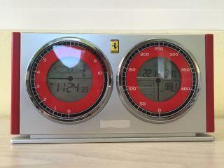 Ferrari Uhr / Wetterstation / Wecker Bild