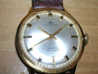 Dugena Tropika Automatic Armbanduhr; Ref.  95456 18 - 29,  60er Jahre, Bild