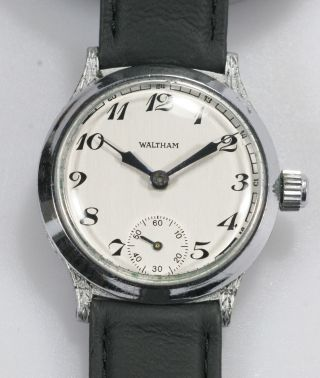 Waltham Armbanduhr Handaufzug Kaliber 1891 Bild