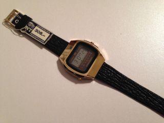 Orient Lcd Digitaluhr Quartz 70er Jahre Ungetragen 308,  - Dm Bild