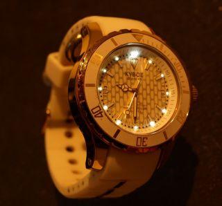 Armbanduhr Kyboe Kg - 004 Giant 48 - Weiß - Edel - Neuwertig Bild