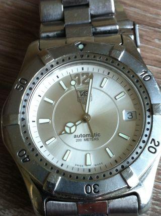Tag Heuer Automatik 200 M Armbanduhr Bild