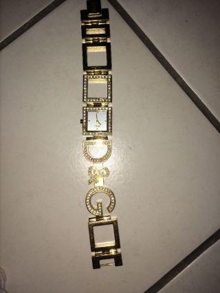 Dolce&gabbana Uhr In Gold Mit Strass/ Gild With Glitter Bild