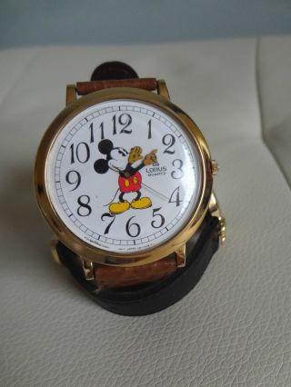 Lorus Mickey Maus Uhr Rar Quarz Bild