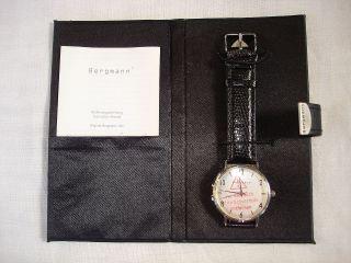 Bergmann,  Armbanduhr 1953,  Mit Etui Bild