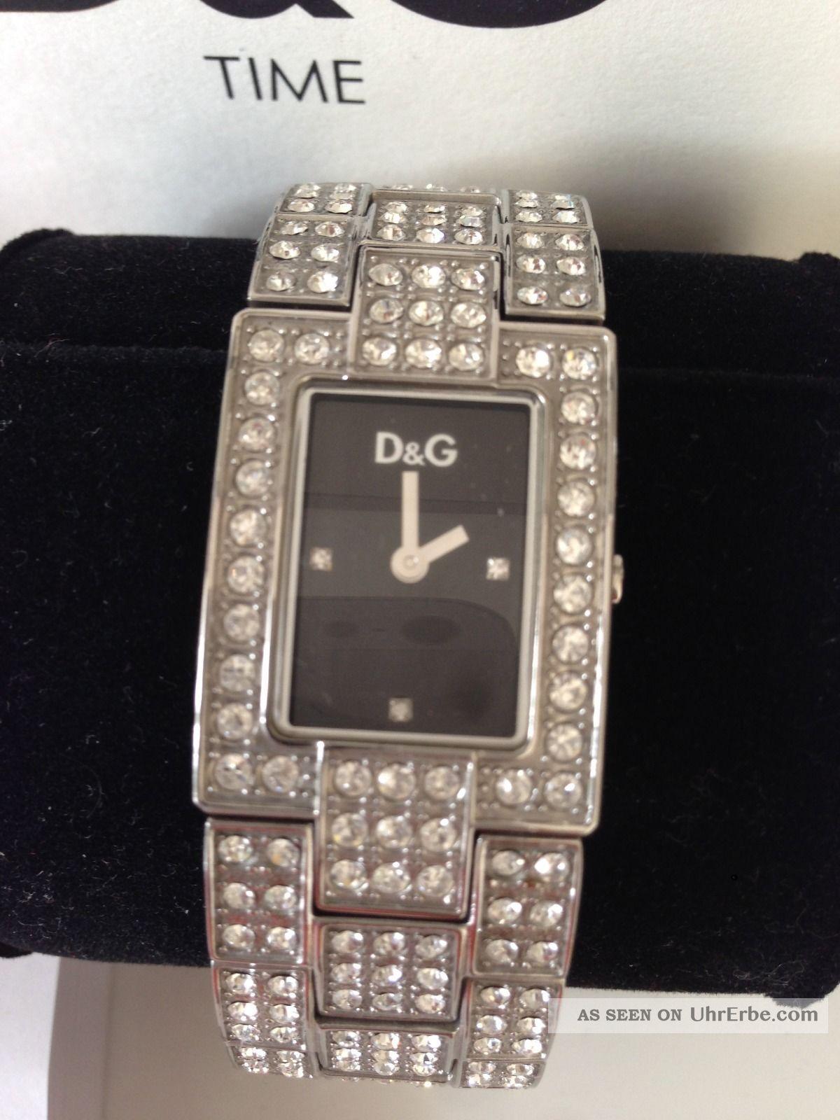 Armband Mit Dolceamp; Etui Luxus amp;g Silber Pur Uhr Strass Gabbana D iuTOPXwkZ