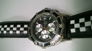 Dugena Sea - Tech Wr100 Analog Chrono Quarz Chronograph Bild