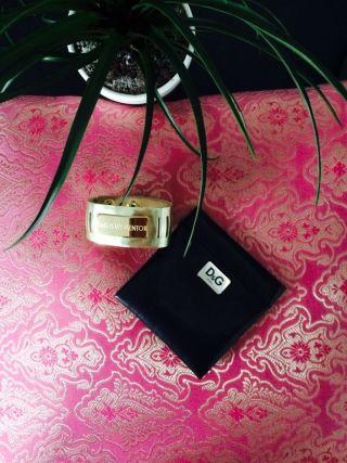 Dolce & Gabbana Armband Mit D&g Täschchen Bild
