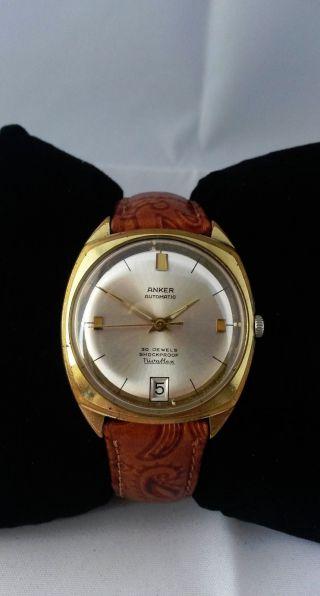Anker Armbanduhr - Automatik / Automatic - Vintage - Sammler Bild