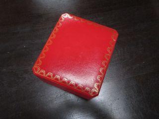 Cartier Geschenkbox Uhrenbox C0578 Top Bild