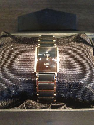 Rado Diastar Jubilé Armbanduhr Gold / Schwarz Bild