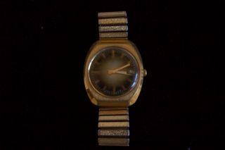 Ddr Russische Armbanduhr Poljot Bild