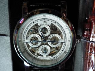 Roebelin & Graef Automatikuhr Armbanduhr Chronograph Analog Bild
