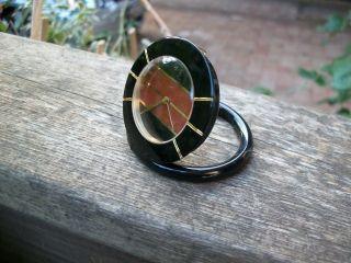 Yves Saint Laurent Wecker Pendulette - Taschen - Tisch Uhr Cartier Uhrwerk Top Bild